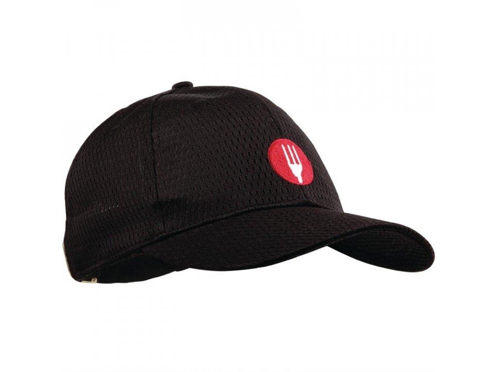 Colour by Chef Works Baseballová čepice Cool Vent™ černá