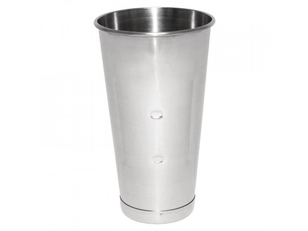 Nerezová nádoba pro mixér Buffalo s jedním vřetenem na mléčné koktejly