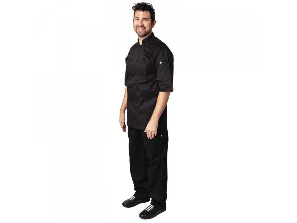 Chef Works kuchařský rondon Montreal s technologií Cool Vent™ unisex černý