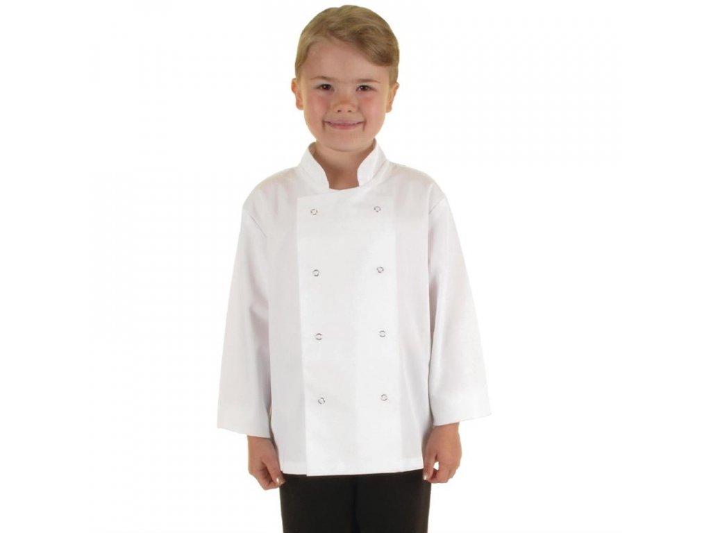 Whites dětský kuchařský rondon bílý S