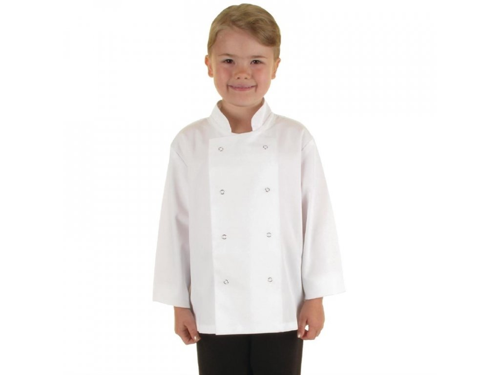 Whites dětský kuchařský rondon bílý L