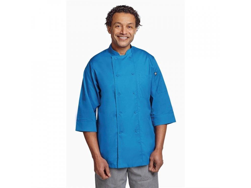 Colour by Chef Works unisex kuchařský rondon modrý