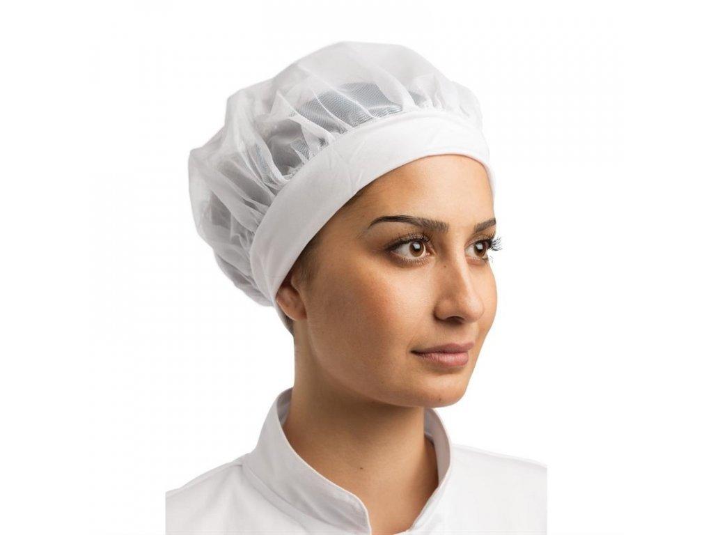 Whites pohodlná čepice se síťkou bílá