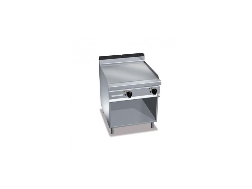 Bertos elektrická grilovacia platňa hladká - výkonnejšia
