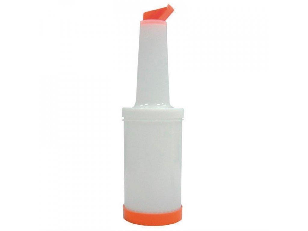 Vogue nalévací a skladovací lahev na džus oranžová