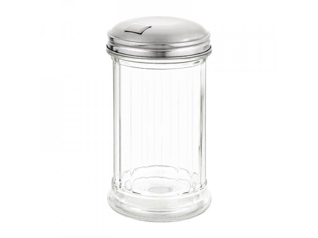 Cukřenka s bočním otvorem a klapkou