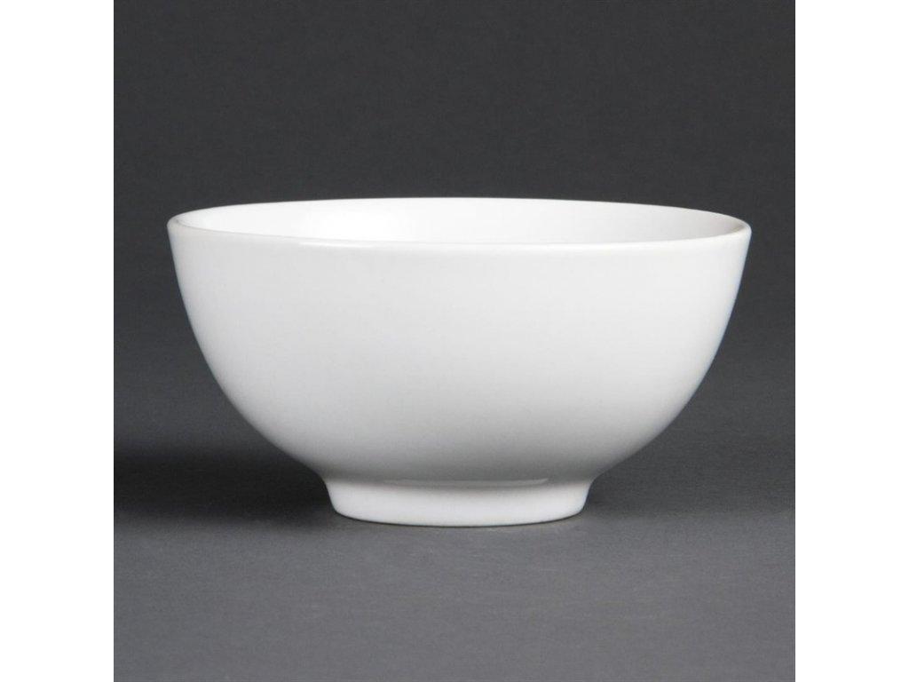 Olympia misky na rýži Whiteware 130mm
