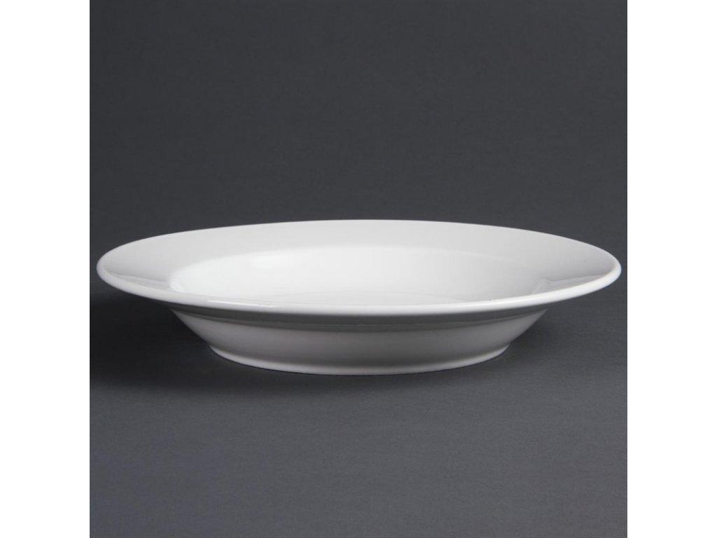 Olympia hluboké talíře Whiteware 270mm