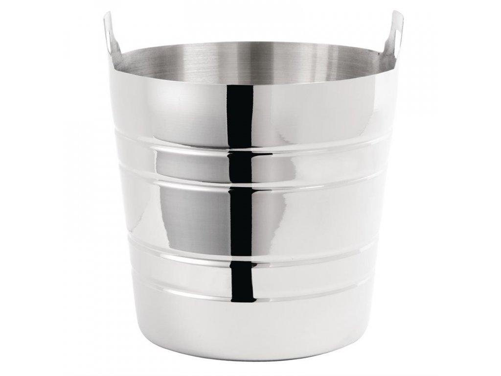 Olympia kbelík na víno a sekt, nerezový leštěný