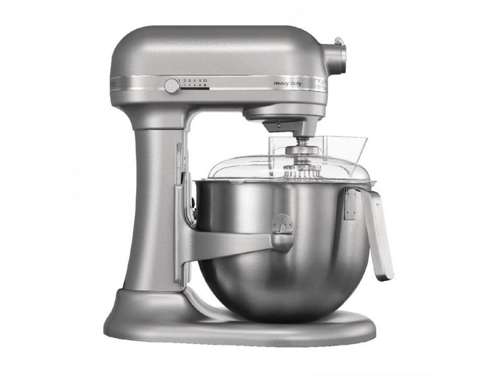 KitchenAid profesionální mixér stříbrná metalíza