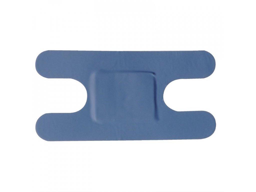 Modré náplasti různých velikostí