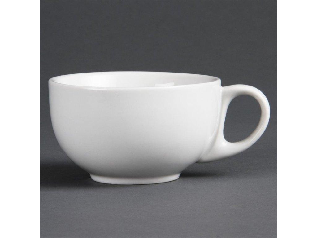 Olympia šálky na cappuccino Whiteware 284ml