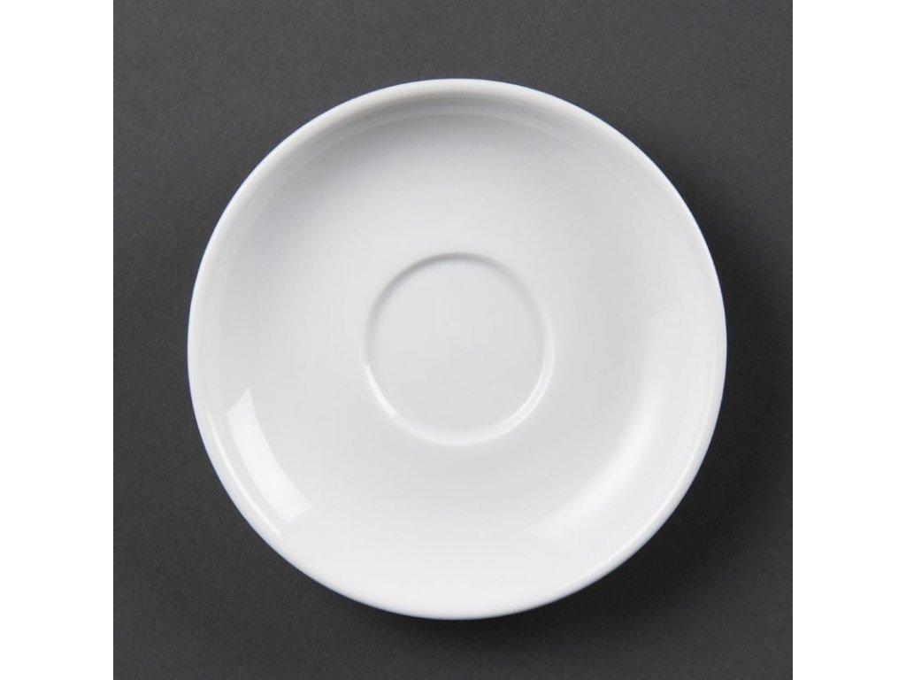 Olympia podšálky na espresso Whiteware