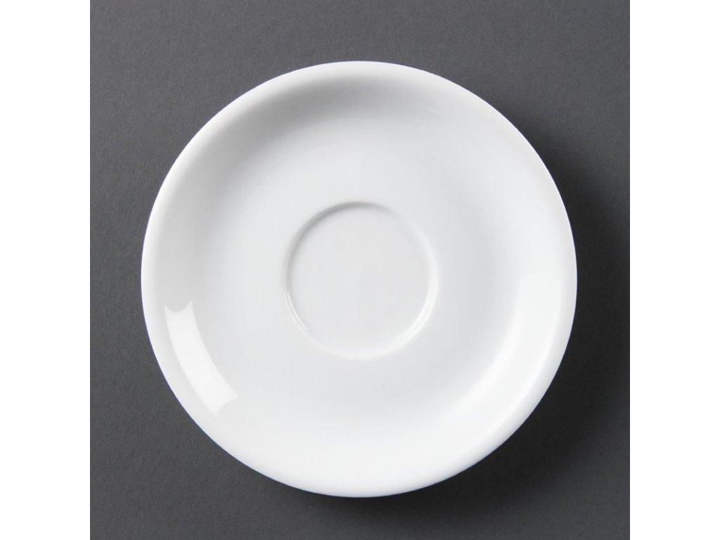 Olympia podšálky na cappuccino Whiteware