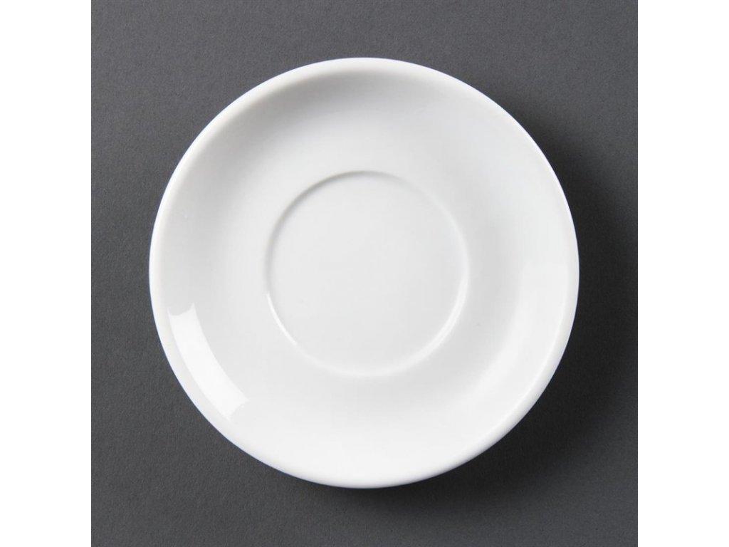 Olympia stohovatelné podšálky na espresso Whiteware
