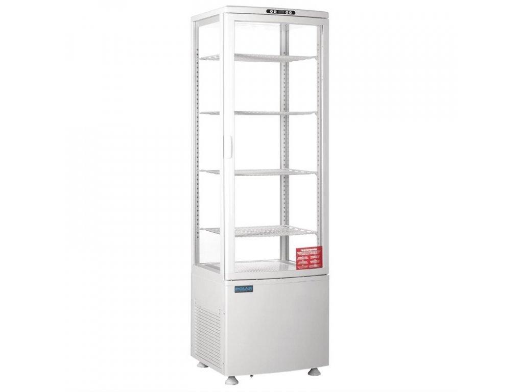 Polar chladiaca vitrína s oblými dverami 235l