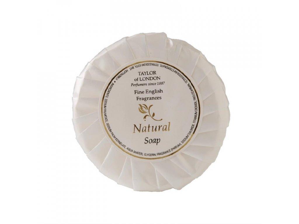 Mýdlo v plisovaném obalu řady Natural