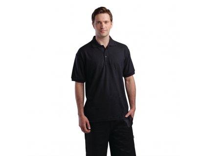 Unisex polo tričko černé