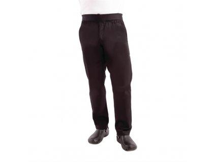 Chef Works pánské lehké úzké kalhoty černé