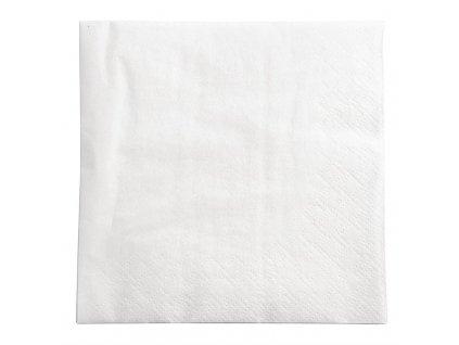 Fasana koktejlové ubrousky bílé 250mm