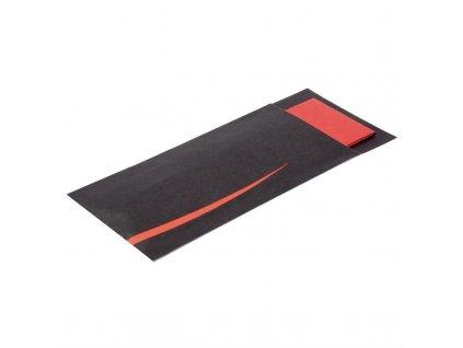 Europochette Bari červená kapsa na příbory s ubrouskem