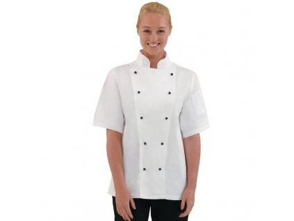Whites unisex kuchařský rondon Chicago s krátkým rukávem
