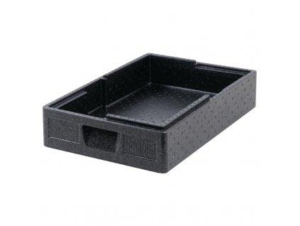 Termobox Salto černý na GN gastronádoby 21l