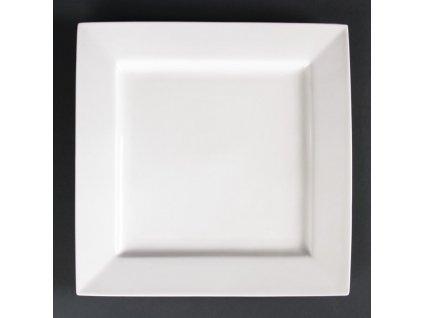 Lumina čtvercové talíře Fine China 265mm