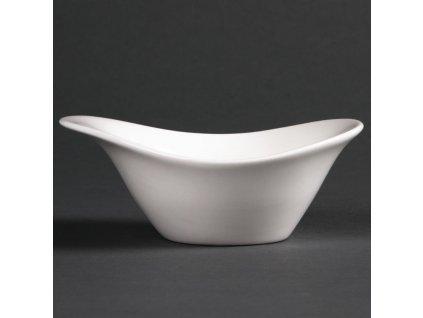 Lumina miniaturní misky Fine China Float 129x 96mm