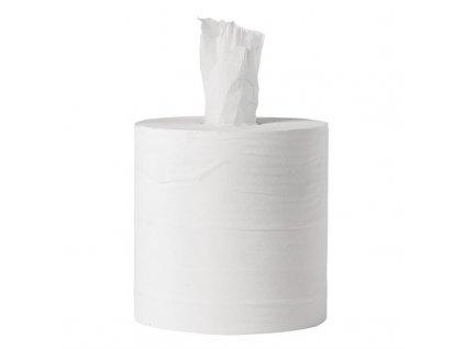 Jantex bílé papírové utěrky v roli se středovým odvíjením 1vrstvé sada 6ks