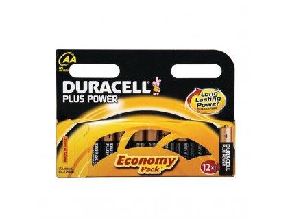 Duracell baterie AA (sada 12ks)