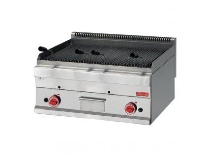 Gastro-M plynový lávový gril  65/70GRL