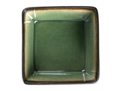 Olympia Nomi čtvercová miska zelená 110mm