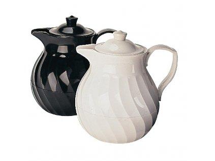 Kinox izolovaná konvice na čaj 1l bílá