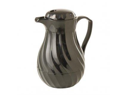 Kinox izolovaná konvice na kávu 600ml černá