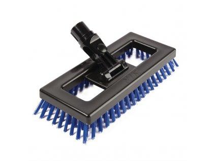 SYR kartáč na drhnutí podlah modrý