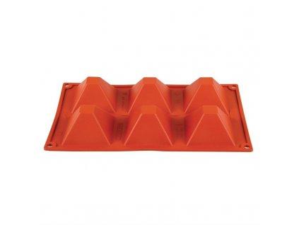 6 silikonových pyramidových forem Formaflex