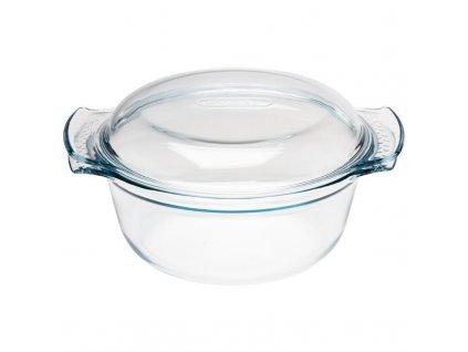 Pyrex skleněný hrnec kulatý 2,5l