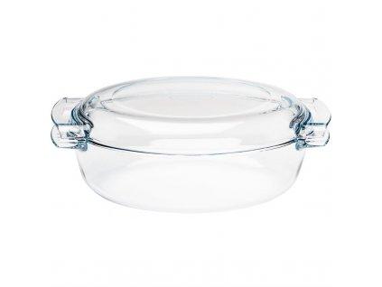 Pyrex skleněný hrnec oválný 4,5l