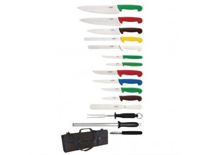 Hygiplas 15dílná sada nožů s přenosným kufrem