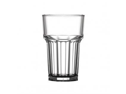 BBP polykarbonátové sklenice projmuté American HiBall 285ml se značkou CE