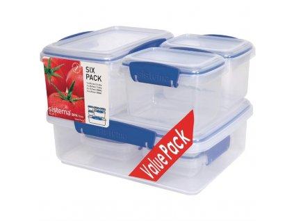 Sistema skladovací nádoba Klip It Multipack
