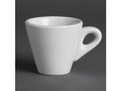 Olympia konické šálky na espresso Whiteware 60ml