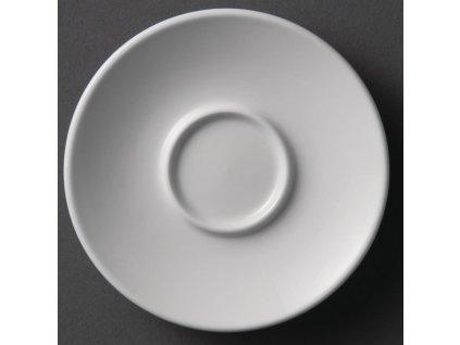 Olympia podšálky na espresso Whiteware 120mm