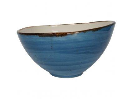 Miska z porcelánu, Ø 15 cm, modrá FINE DINE, Kolory Ziemi Iris