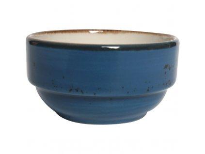 Miska z porcelánu, Ø 8 cm, modrá   FINE DINE, Kolory Ziemi Iris
