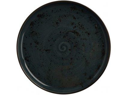 Tanier z porcelánu s vysokým okrajom, Ø 27 cm, šedý  FINE DINE, Kolory Ziemi Arando