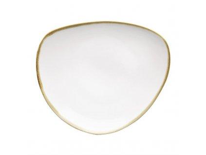 Olympia Kiln Trojuholníkový tanier 23cm (6 kusov)