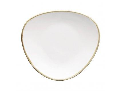 Olympia Kiln Trojuholníkový tanier 28cm (4 kusy)