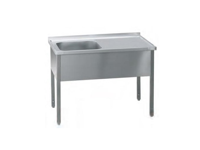 Stůl pracovní jednodřez   160x70